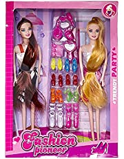 Two Dolls with Accessories for Girls