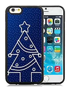 New Design Case Cover For HTC One M8 Christmas Tree Black Hard Case 17