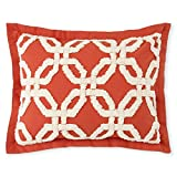 Stylemaster Home Products HOLDEN Stylemaster Chenille Sham, Standard, Spice,Standard