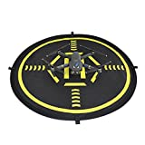 FSLabs Drone and Quadcopter Landing Pad 32 inch(80CM) RC Aircraft Soft Landing Gear Surface Made of Waterproof Eco-Friendly Rubber For DJI Mavic Phantom 3 4 Mavic Pro