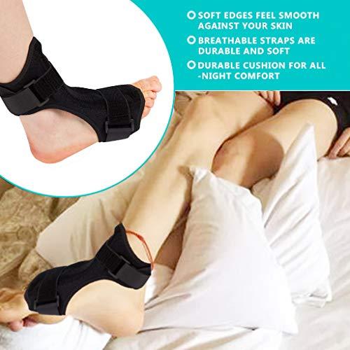 Retrofish Adjustable Plantar Fasciitis Splint Foot Drop Brace | For Heel Pain Relief (1pc)