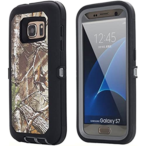 Galaxy S7 Case, AICase Heavy Duty Protection Shock Reduction Shockproof Dirtproof Blet Clips Defender Camo Kickstand Bumper Case Cover Built-in Screen Sales