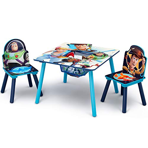 51s3u0h4 yL - Delta Children Kids Chair Set and Table (2 Chairs Included), Disney/Pixar Toy Story 4