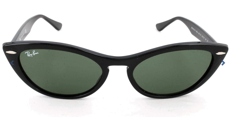 Ray-Ban 0RB4314N Gafas de sol, Black, 53 para Mujer