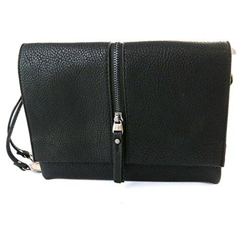 Bag designer 'Lulu Castagnette'nero (2 scomparti).