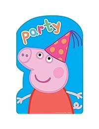 Peppa Pig Invitations (8 Count)