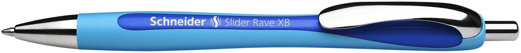 Schneider Slider Rave XB Ballpoint Pen, Box of 5, Blue (132503) by Schneider (Image #11)