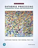 img - for Database Processing: Fundamentals, Design, and Implementation (15th Edition) book / textbook / text book