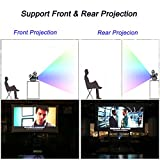 120 inch Projector Screen, iRunning 16:9 HD