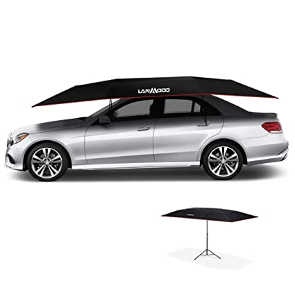 A And M Auto >> Lanmodo Car Tent Portable Automatic Car Umbrella Remote Control Automobile Protection Automatic Car Cover Can Be Beach Fishing