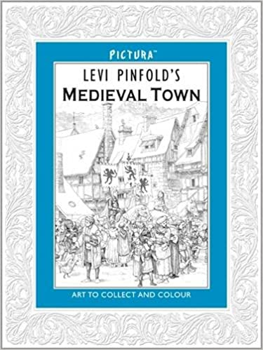Pictura: Levi Pinfold's A Medieval Town