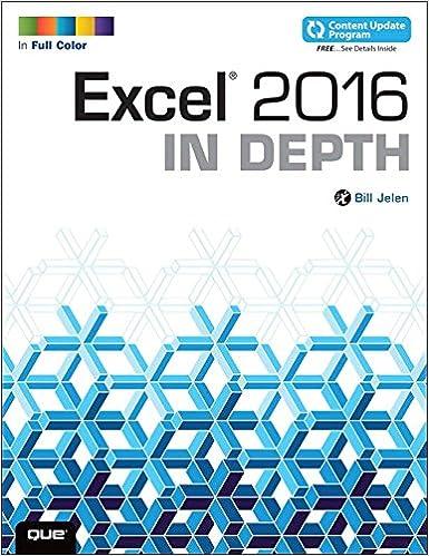 Amazon.com: Excel 2016 In Depth (includes Content Update Program ...