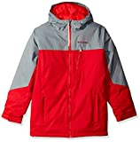 Columbia Boys Double Grab Jacket, Medium, Mountain Red