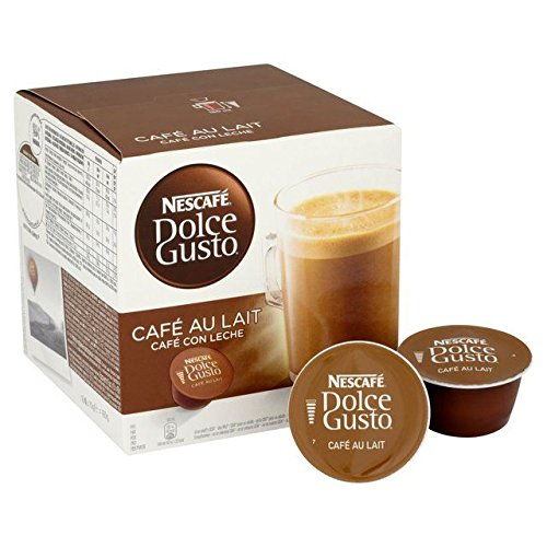 Nescafe Dolce Gusto Cafe Au Lait Pods - 16 per pack (0.35lbs)