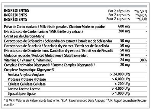 Detox Complex 60 cápsulas: Amazon.es: Salud y cuidado personal