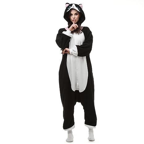 Albrose - Pijama con diseño de figuras para cosplay BlackCat small