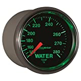 Auto Meter 3831 GS 2-1/16'' 140- 280 Degree Fahrenheit Mechanical Water Temperature Gauge