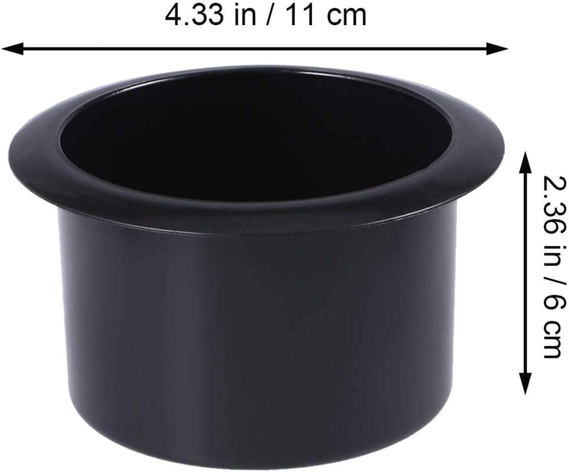 DULALA Portabicchieri 2 Pezzi Inserto di Ricambio per cupolino con Maniglie reclinabili per Divano da Barca per Camper Tavolo da Poker per Camion