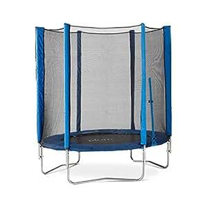 Plum® 6ft Junior Trampoline and Enclosure - Blue