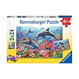 Ravensburger - Underwater Beauty – 2X24 Puzzle