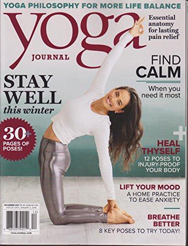 Yoga Journal Magazine December 2017