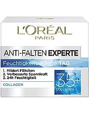 L'Oréal Paris Anti-Wrinkle Expert Moisturizer, voor 35+, vermindert rimpels en biedt elasticiteit voor een zijdezachte huid, 50 ml