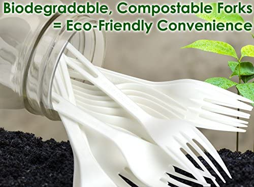 Biodegradable tenedores de plástico de vegetales non-gmo Multi ...