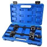 AB Tools-Toolzone 2pc Spring Compressors Lock Pins Macpherson Struts Shock Absorber Car TE863