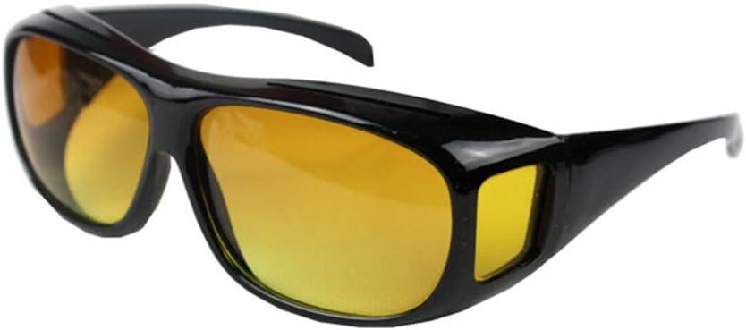 Zantec Gafas de visión Nocturna HD sobre Envoltura Alrededor de Gafas de Sol Protectoras UV Gafas de conducción Nocturna Multiusos