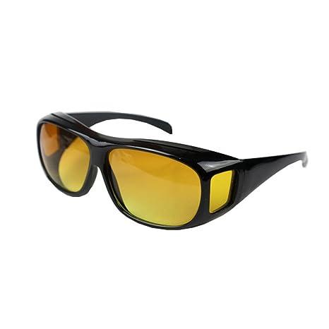 Zantec Gafas de visión nocturna HD sobre envoltura alrededor de gafas de sol protectoras UV Gafas
