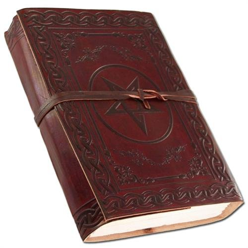 Medieval European Handmade Leather Diary Journal Thought Book