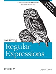 Regular expressions are an extremely powerful tool for manipulating text and data. They are now standard features in a wide range of languages and popular tools, including Perl, Python, Ruby, Java, VB.NET and C# (and any langu...