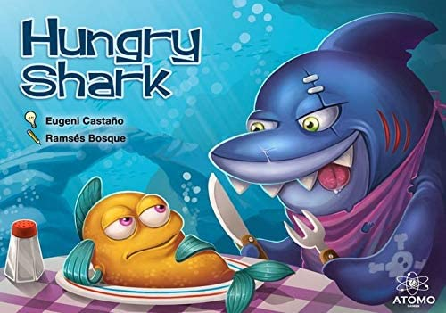 Atomo Games Hungry Shark. El Juego de Mesa: Amazon.es: Juguetes y ...