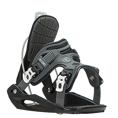 Flow Micron Youth Kids Snowboard Bindings 2017 Medium/Black