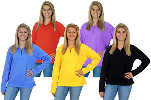 Womens 1/4 Zip Fleece - 7