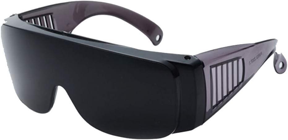 HNYG - Gafas de protección láser para luz pulsada., gris