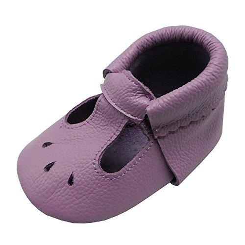 9741d9e3fc5a8 Mejale Baby Chaussures D Été à Semelles en Cuir Mocassins Bébé ...