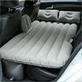 EGI Universal Charcoal Gray Inflatable Car Mattress for Back Seat of Sedan, SUV, Pickup Trucks, Mini Van, and Semi Trucks