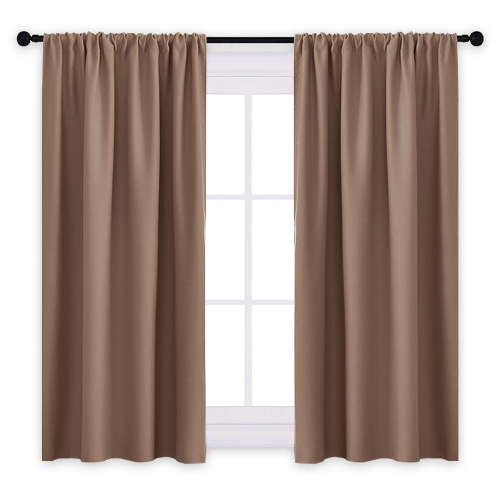 Amazoncom Pony Dance Kitchen Curtains Short Thermal Insulated