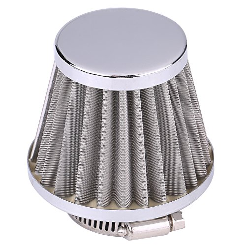 Anauto 38mm Air Intake Filter Fits for 125cc-250cc ATV Go kart Dirt Bike Motorcycle PZ22-PZ27 Carb