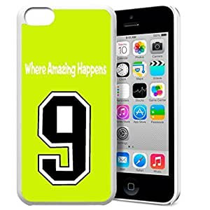 diy phone caseGXFC Case Unique Design Basketball Sportsman Uniform Where Amazing Happens 9 Pattern HD Durable Hard Plastic Case Cover for iphone 5/5sdiy phone case