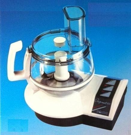 Ronic Original 4000 - Robot de cocina con accesorio de exprimidor, molinillo, cuchillo multiusos, ralladores, cortador de patatas, exprimidor de limón, accesorio para montar nata (700 W): Amazon.es