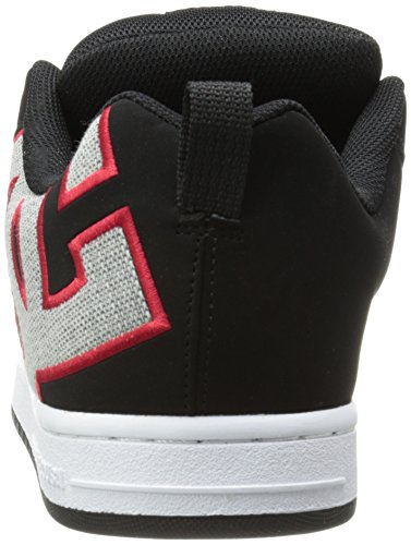 Grey Sneaker Black Red Graffik Men's Court SE DC qHfOUw8