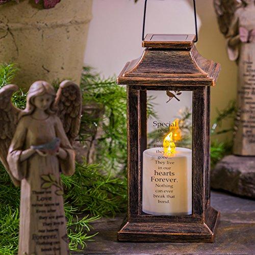 CEDAR HOME Solar Lantern Outdoor Garden Decorative LED Light Waterproof Portable Hanging Lamp by, 13