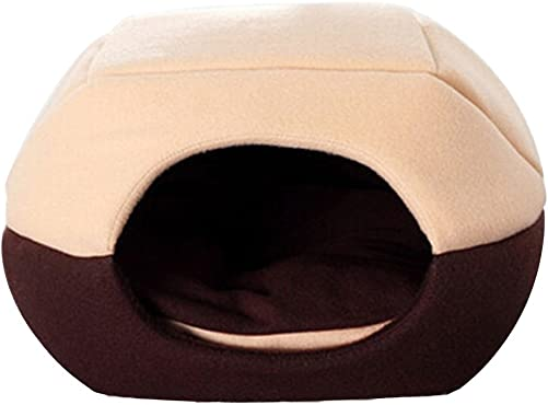 Zonepets Soft Cave Mongolian Yurt Shaped Pet Dogs Cats House Cushion Bed
