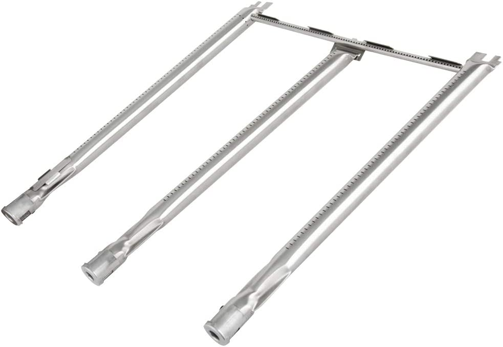 Onlyfire Stainless Steel 3 Burner Tube Set Fits for Weber Spirit E/S-300 Series Gas Grills (2013 and Newer)