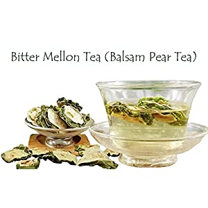 Bitter Mellon Tea - Balsam Pear - Chinese Tea - Herbal - Decaffeinated - Tea - Loose Tea - Loose Leaf Tea - 2oz