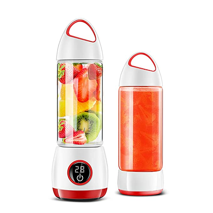 BSJZ USB Blender Easy to Use and Clean Portable Juicer Environment Friendly Material Fruit Mixer Keep You Away from The Dangers of Processed Foods