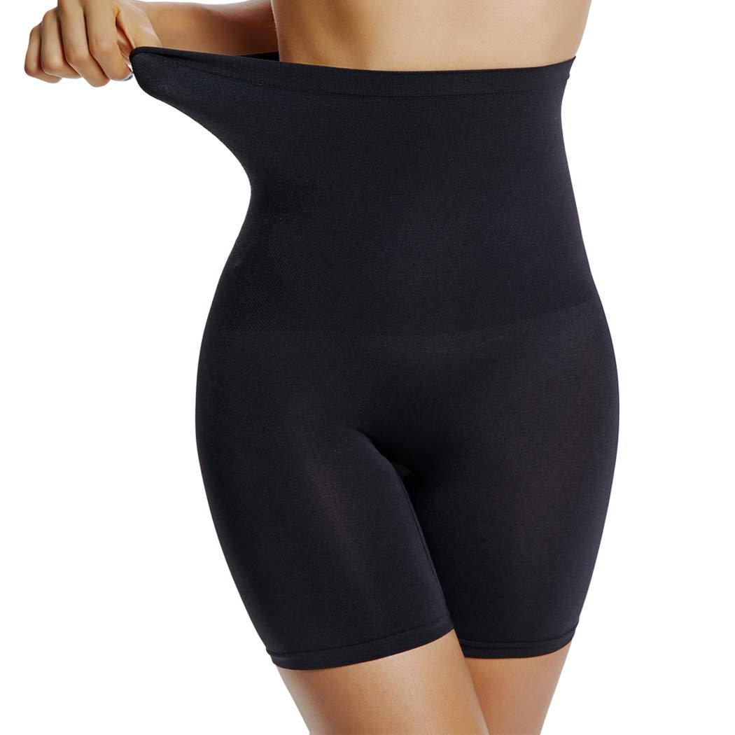 941221a64 Joyshaper Womens Slip Short Panty High Waist Thigh Slimmer Shapewear Tummy  Control Shorts for Underwear Black