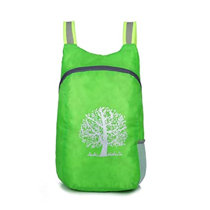 Image Unavailable. Image not available for. Color  Quaanti Durable  Waterproof Folding Packable Lightweight Outdoor Travel Hiking Backpack  Daypack Portable ... 4f67795cf8945